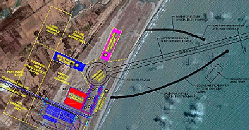 Development of Greenfield Deep water port at Machilipatnam